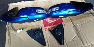 Suzuki Swift sport zc31 side mirror set