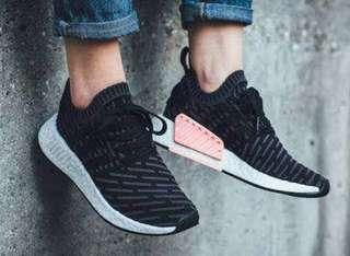 Adidas NMD R2 Primeknit Black Pink