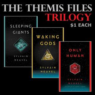 The Themis Files Trilogy by Sylvain Neuvel
