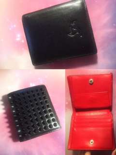 Christian Louboutin Black Paros Wallet