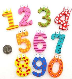Wooden Kiddy Learning Number