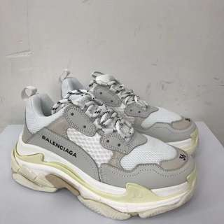Balenciaga Triple S 'Cream /White'