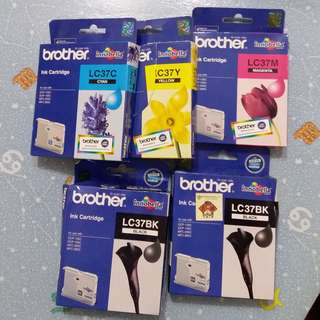 Brother LC 37 墨盒ink cartridge