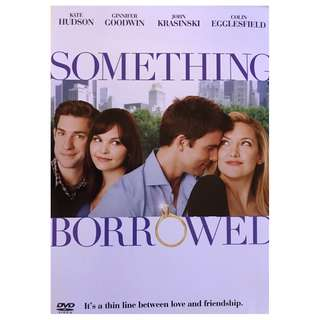 DVD - SOMETHING BORROWED