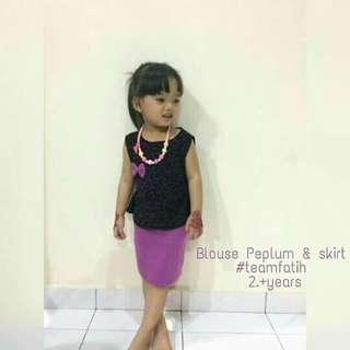 PEPLUM KIDS GIRL