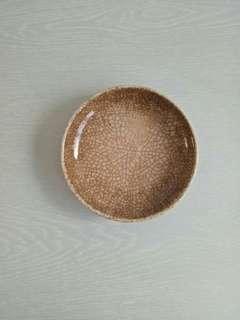 Vintage Porcelain lce Crackle Plate Diameter 13.5cm Perfect condition