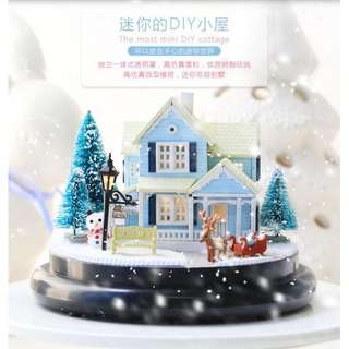 DIY Nordic Fairy Tales Mini Town RM50 size 14cm