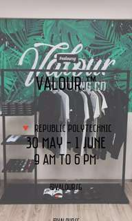 #Blessing Valour pop up booth at Republic Polytechnic!