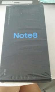 Brand new samsung note 8, maple gold. Free casing and TG