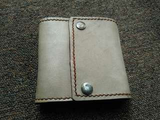 Leather wallet no brand luxury