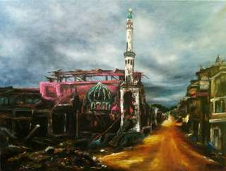 Painting After the Invasion Marawi City