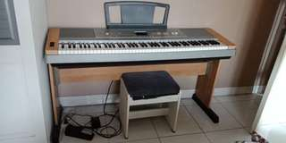 Yamaha DGX 640 Portable Grand Piano