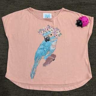 Tshirt pretty bird Gingersnaps