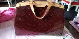LV Bag Brea GM Rouge Fauviste, model number M91689 national day special