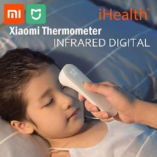 Xiaomi iHealth Thermometer Digitial Infrared Temperature Non-Contact Fever LED Health