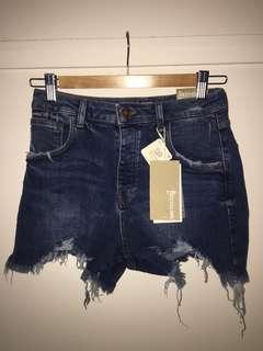 BNWT Zara denim shorts