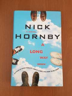 Nick Hornby A Long Way Down Hardcover