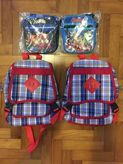 Children's Haversack and Sling Bag