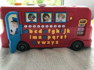 Vtech playtime bus with phonic