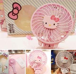 Hello Kitty 風扇+手袖set