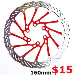 G3 160mm 6-Bolt Colour Disc Rotor -------- (XTR M9020 XT M8020 M8000 M785 SLX M7000 M675 M315 MT2 MT4 MT5 MT5E MT6 MT7 MT8 Trail) Dyu