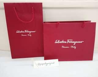 Salvatore Ferragamo Paperbag Authentic Paper bag original
