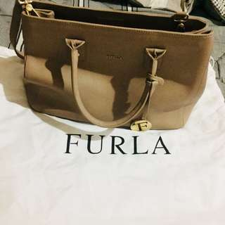 FURLA SAFFIANO LEATHER BAG from ITALY
