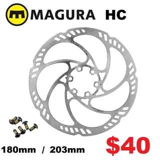 Magura Storm HC 6-bolt Disc Brake Rotor 180mm / 203mm --------  (Magura MT2 MT4 MT5 MT5e MT6 MT7 MT8 Trail XTR M9020 XT M8020 M8000 M785 SLX M7000 M675 M315 ) DYU