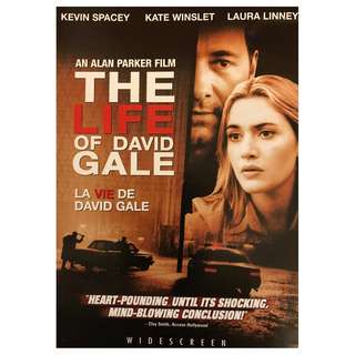 DVD - THE LIFE OF DAVID GALE (ORIGINAL USA IMPORT CODE 1)