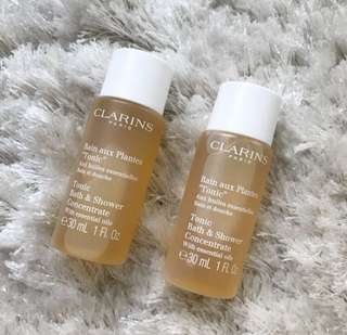 ✨[BN] FREE NM✨ CLARINS Tonic Bath & Shower Concentrate 30ml ✨