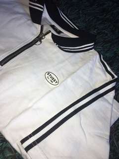 One of a kind stussy crop