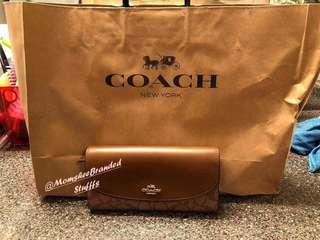 Brandnew Coach Long wallet