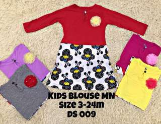 Cute kids blouse
