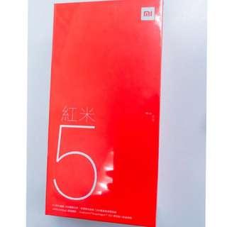 🚚 《每天出貨》現貨‼️我最便宜👏小米 紅米5 台灣公司貨 一年保固 顏色都有 可超商取貨付款
