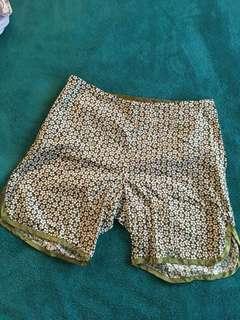 Scintilla shorts, size xs