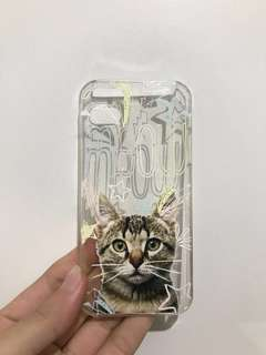Hard case iPhone 5,5s,SE (kucing)