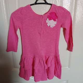 Pink Peplum/Dress