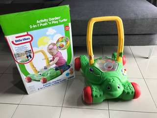 Little Tikes Push & Play Turtle
