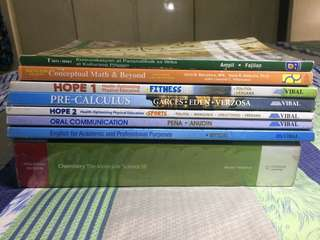 Senior High STEM 2nd Hand Books