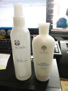 Napca moisture mist 250 ml. - Creamy cleansing lotion normal to dry skin 150 ml.