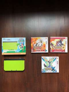 Nintendo 3DS XL SPECIAL EDITION LIME GREEN