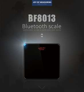 TSEC-BF8013 LED Smart Digital Weighing Scale Bluetooth Fats BMI Calculation Calulator