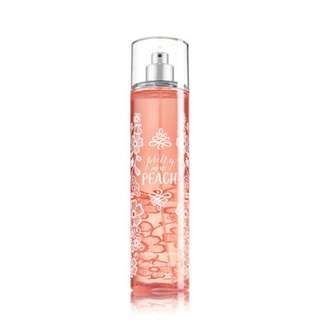 Bath and Body Works Pretty as a Peach Fragrance Mist 236mL