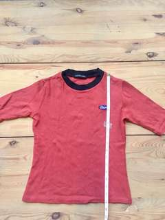 Clothing lover red t-shirt
