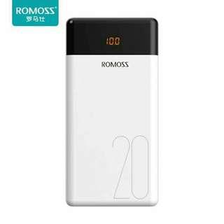 Romoss Lt20 powerbank 20000 mah