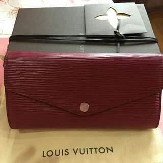 Louis Vuitton Sarah EPI Wallet