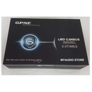 GPNE CANBUS HEADLIGHT AUTO LED LIGHTING SYSTEM H7