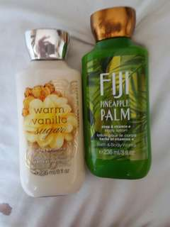 BATH AND BODY WORKS LOTION BUNDLE