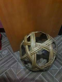 Ratan made Rock and Chair with ball