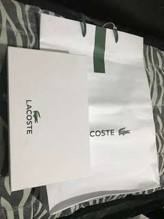 Original lacoste mens wallet